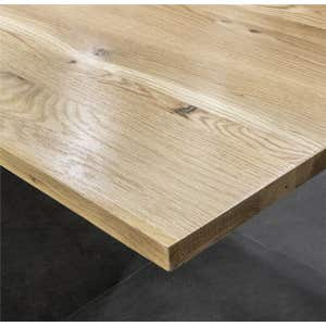 MADERA Solid White Oak Timber Vanity Top 600mm