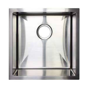 BURAZZO Undermount Single Bowl Sink 450mm (Deep)