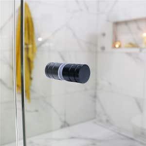 Shower Handle Matte Black