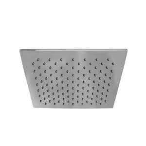 MONSOON Square Shower Head Chrome 250mm
