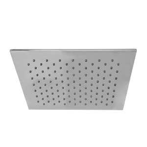 MONSOON Square Shower Head Chrome 300mm