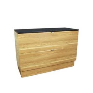 COMO Floor Mount Vanity 1200mm Timber
